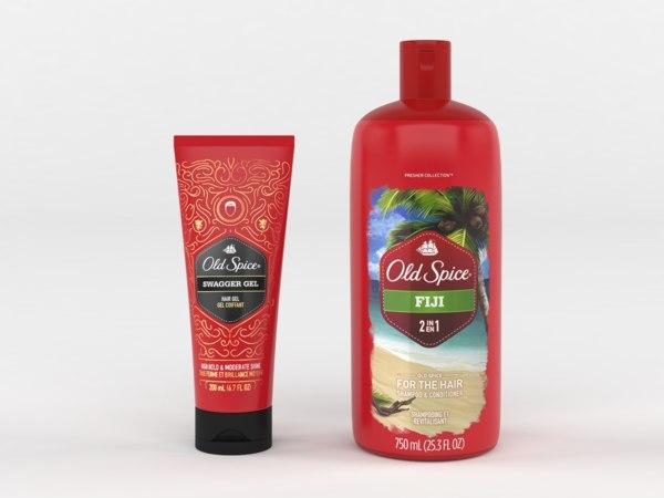 old spice shampoo conditioner model