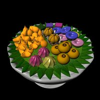 thai traditional 3D model