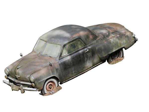 3D scan old car