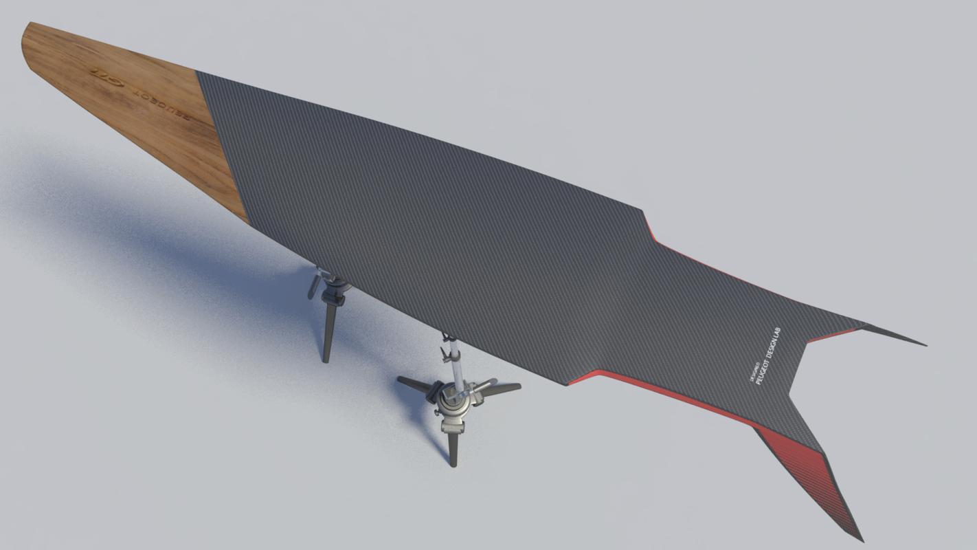 surfboard-concept surfboard 3D