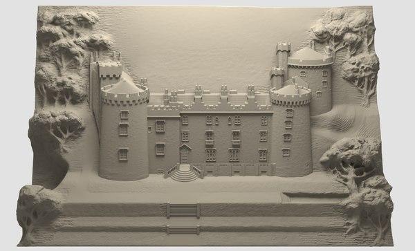 3D kilkenny castle