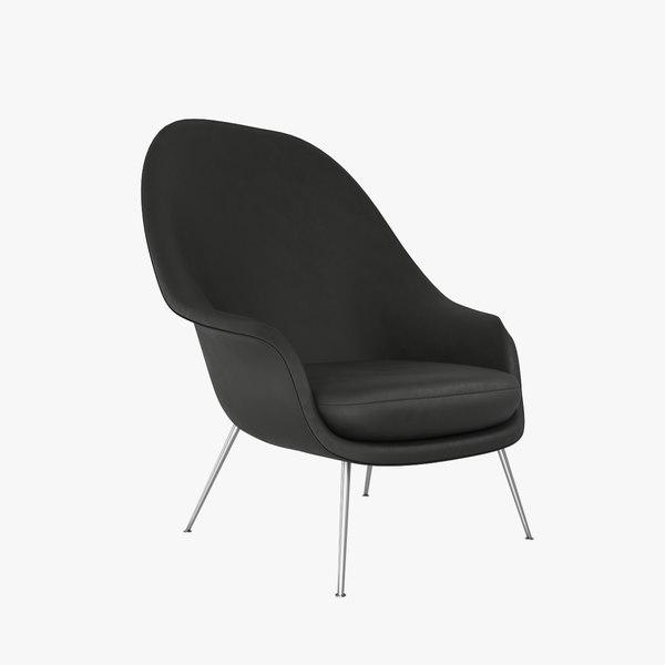 chair v12 3D model