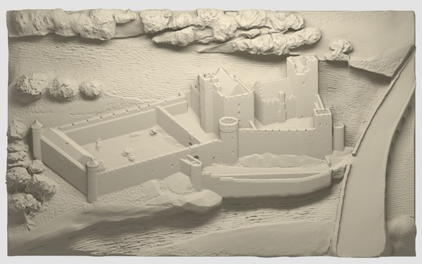 3D cahir castle model
