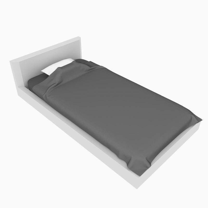 bed cover minimalistic single model