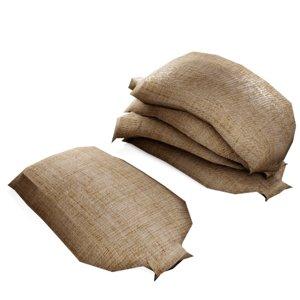 3D burlap bag grain sacks