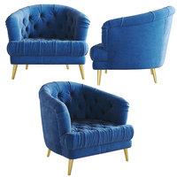 3D alexander james florence chair