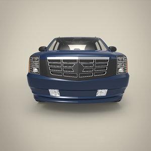 3D mini truck model