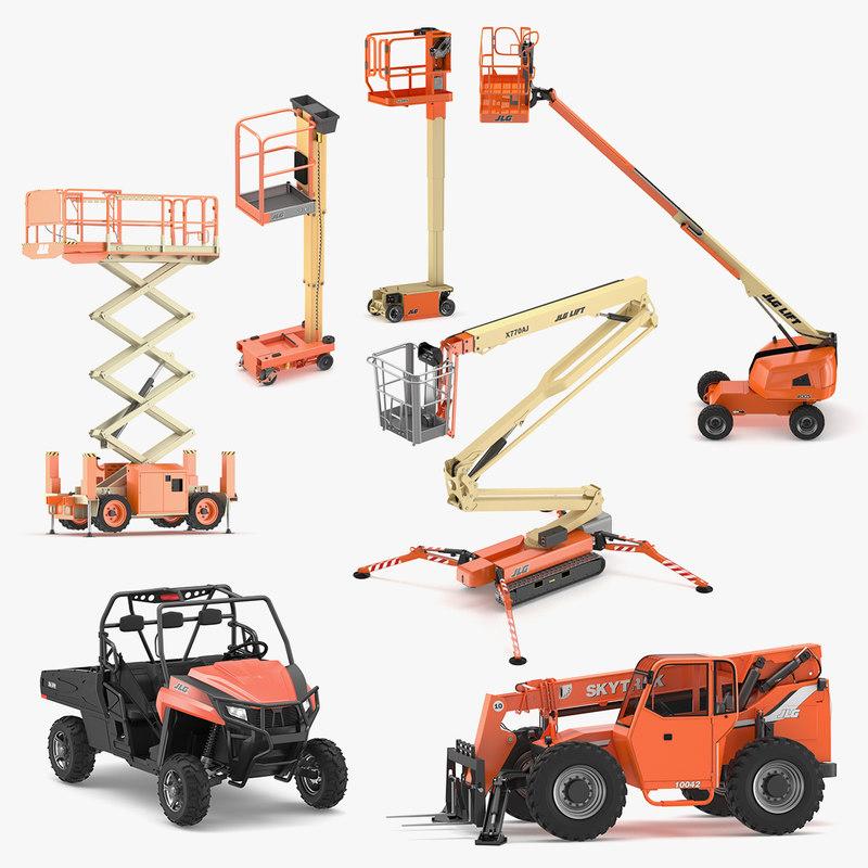 jlg vertical lift model