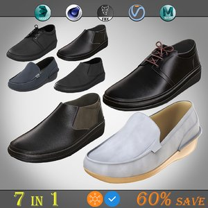 formal shoe pack 3D model