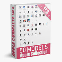 Apple Collection 50 Models