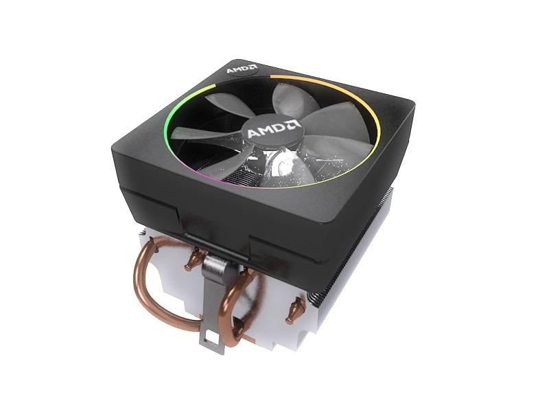 3D model cpu cooler amd