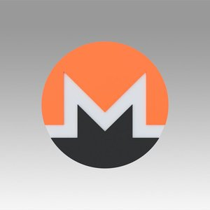 3D monero currency crypto