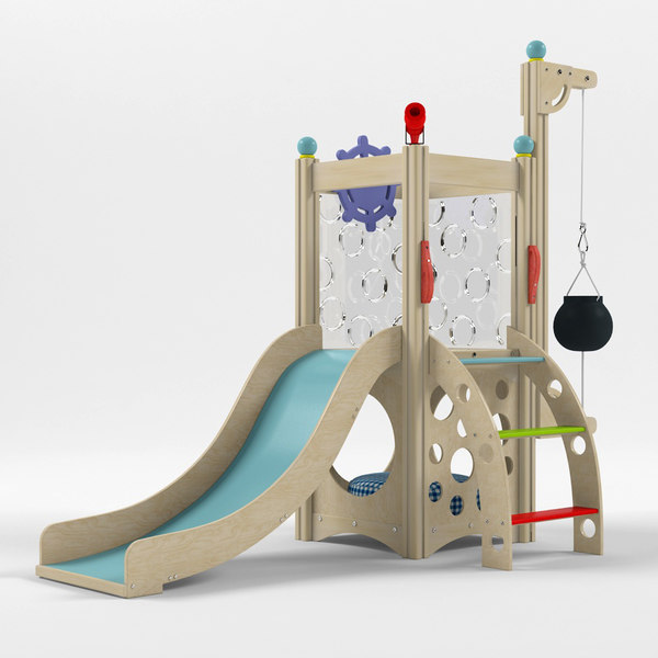 indoor playset 3D model