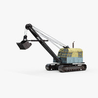 Industrial Mining Shovel
