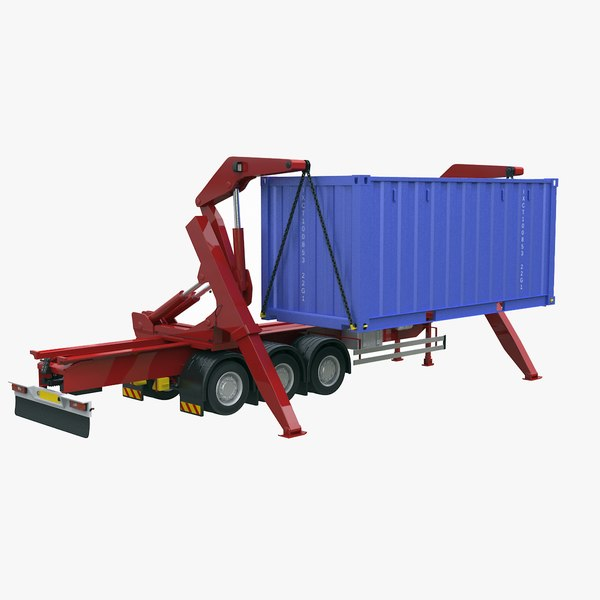 sidelifter container 3D