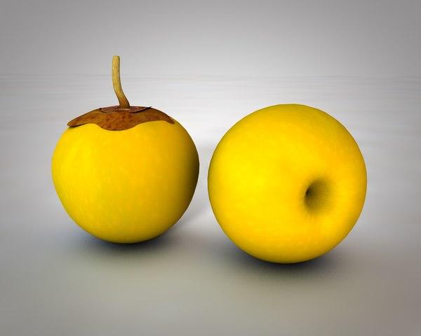 fruit juice 3D model
