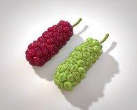 3D fruit juice model