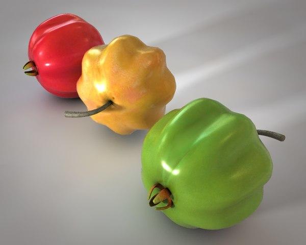 3D model cherry