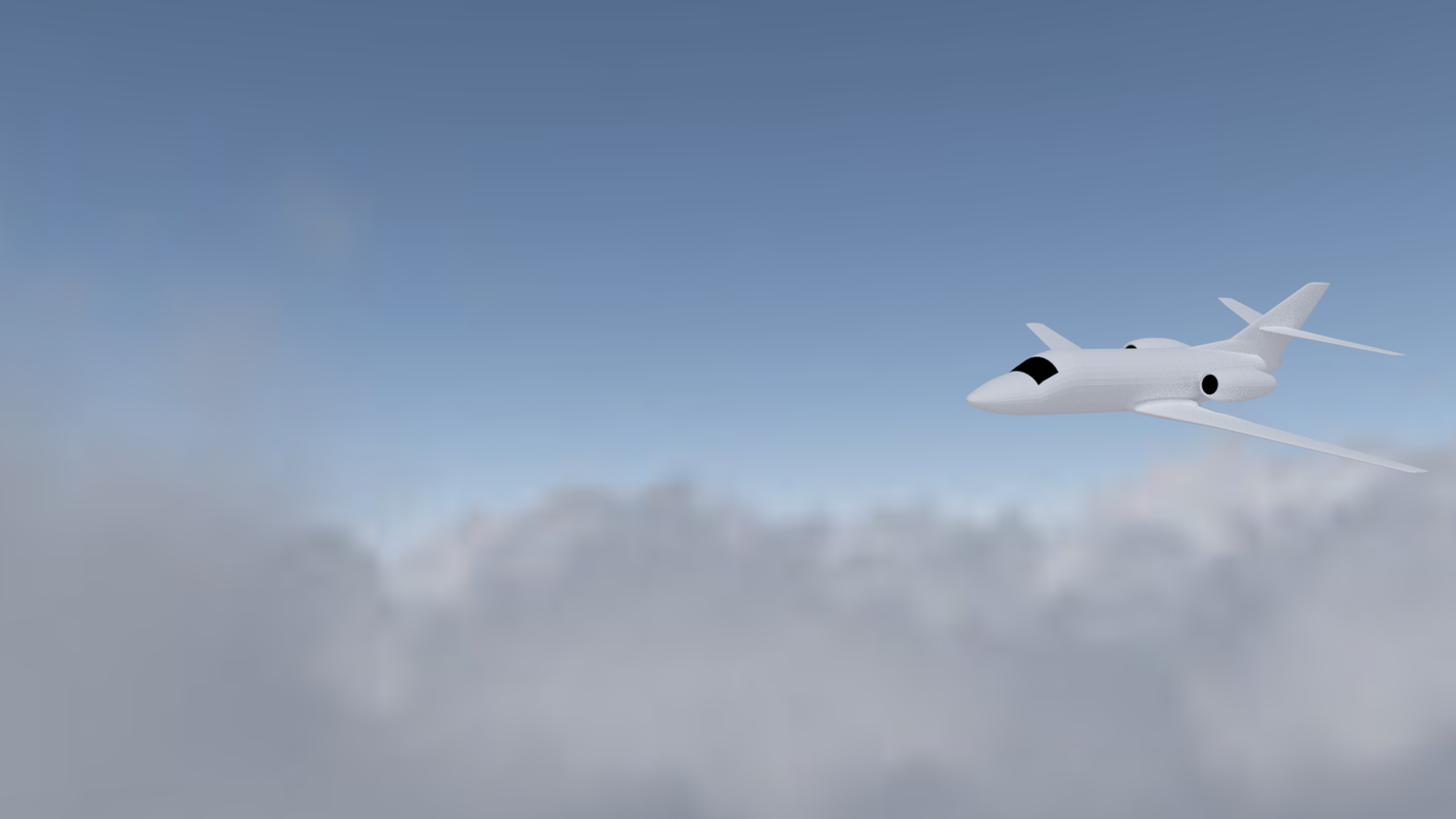 plane aircraft avion 3D model