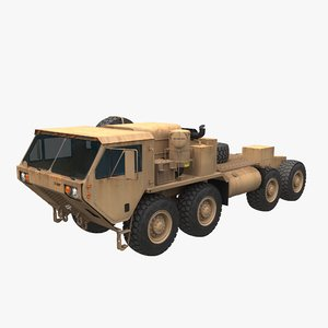 oshkosh hemtt truck 3D model