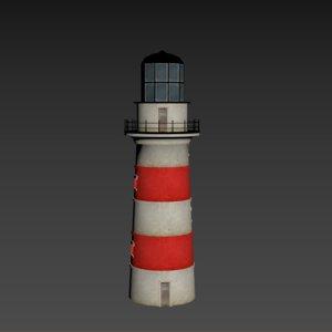 3D lighthouse building