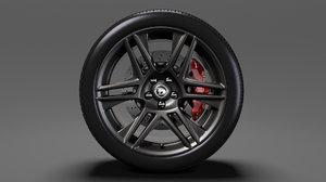 hsv maloo r8 black 3D model