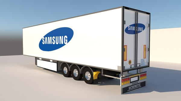 trailer samsung 3D model
