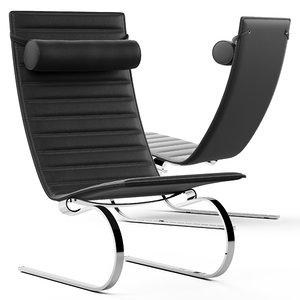 cult living aesop lounge chair 3D