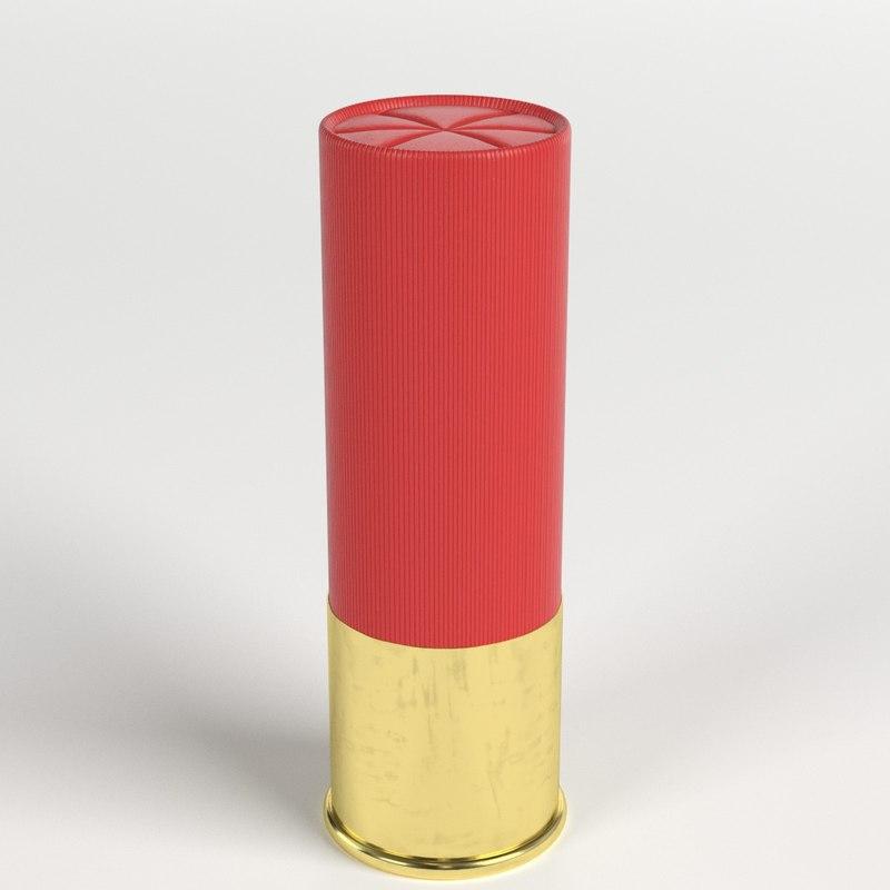 shotgun shell cartridge model
