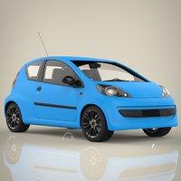 mini sport car 3D model