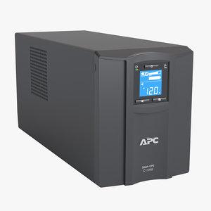 photoreal backup ups apc 3D model