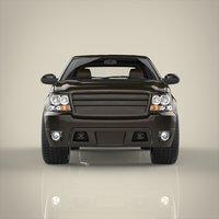 3D suv truck model