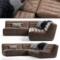 3D shabby modular sofa