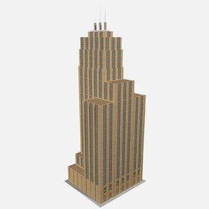 seattle tower washington 3D model