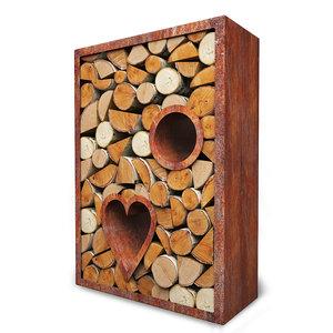 woodshed corten 3D model