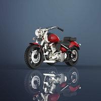 3D moter bike model