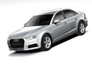 audi a4 2020 sedan 3D model
