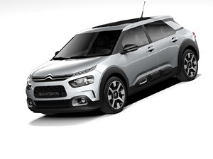 citroen c4 cactus 2020 3D model
