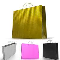 Shopping Bag / 4 color variations