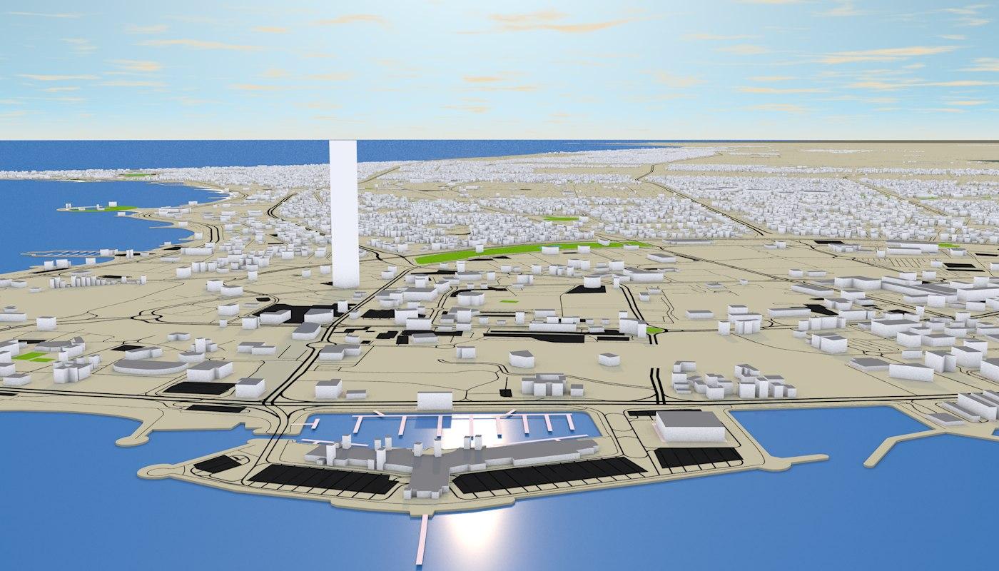 KUWAIT 3D MODEL