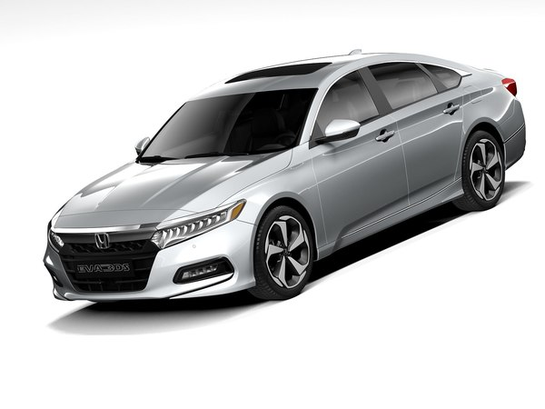 3D model honda accord 2020