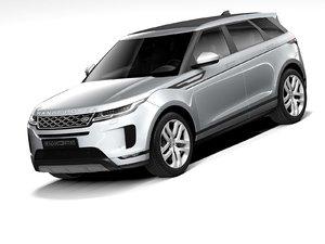 3D model land rover evoque 2020