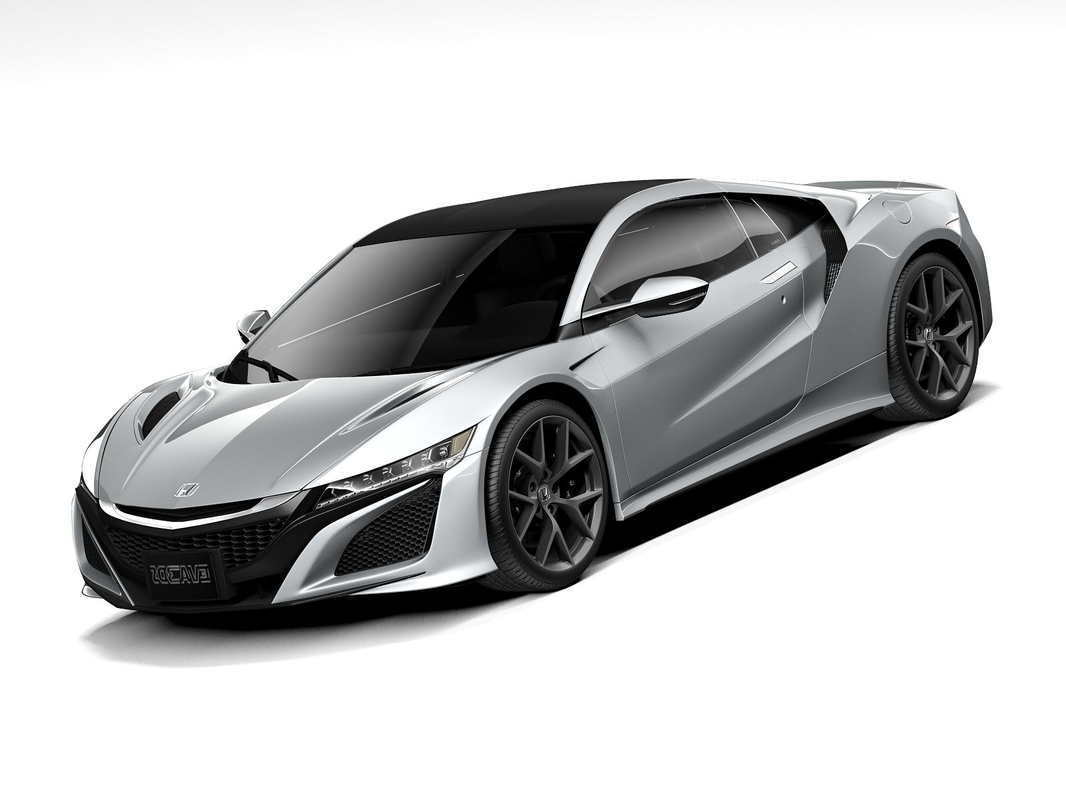 honda sport coupe 2020 3D model