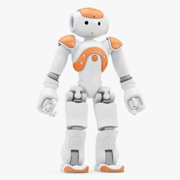 robot nao 3d model