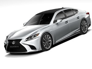 lexus ls 2020 3D model
