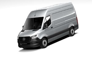 3D mercedes-benz sprinter 2020 mercedes benz model