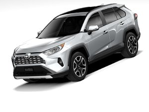 3D toyota rav4 2020 model