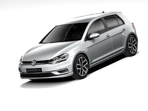 3D volkswagen golf 2018