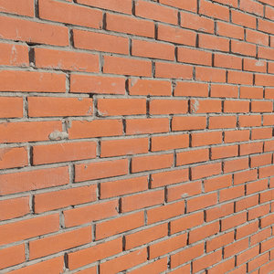 ultra realistic brick wall 3D