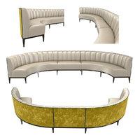 3D sofa seat bespoke model